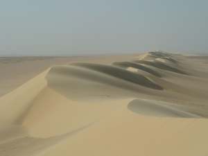 Titan's Dunes in Egypt – Stephen Phillips