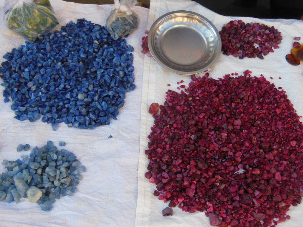 The weather of Mogok: sapphire, spinel, and ruby!