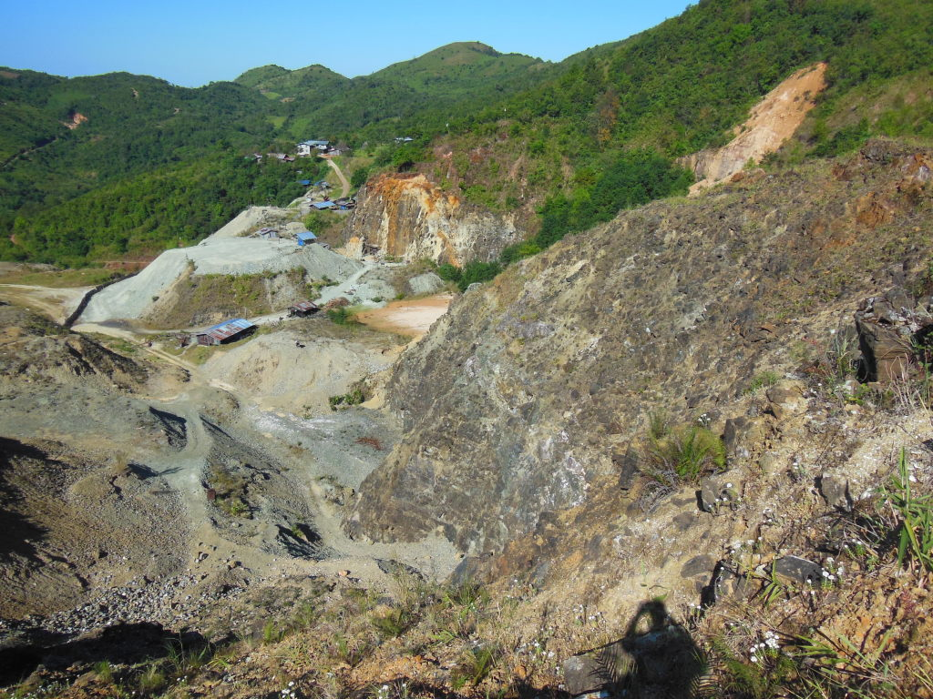 Newly discovered ophiolite mantle sequence harzburgite and lherzolite in Mogok.