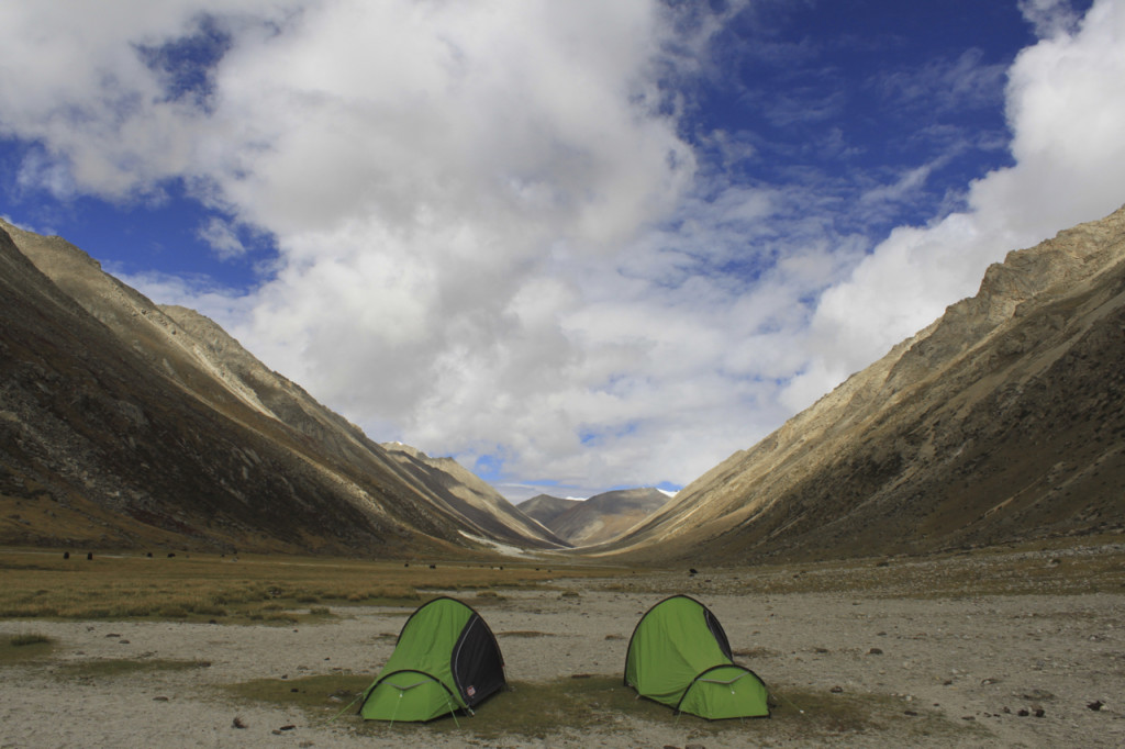 Vast landscapes made for some scenic campsites.