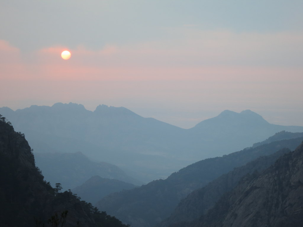 Sunset in the mountains. No further comments needed, your Honor!