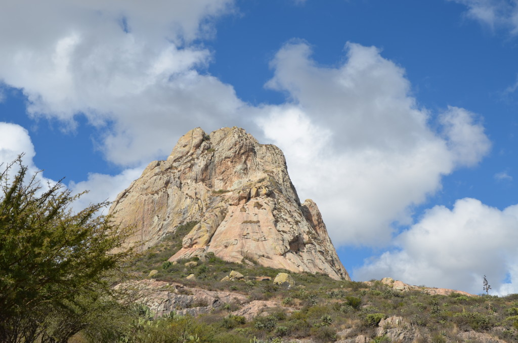 Peña de Bernal, one of the world's tallest monoliths