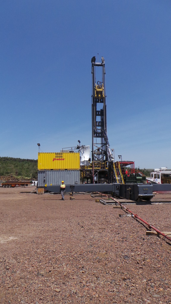 Cluff Geothermal/Hotspur Drilling Rig