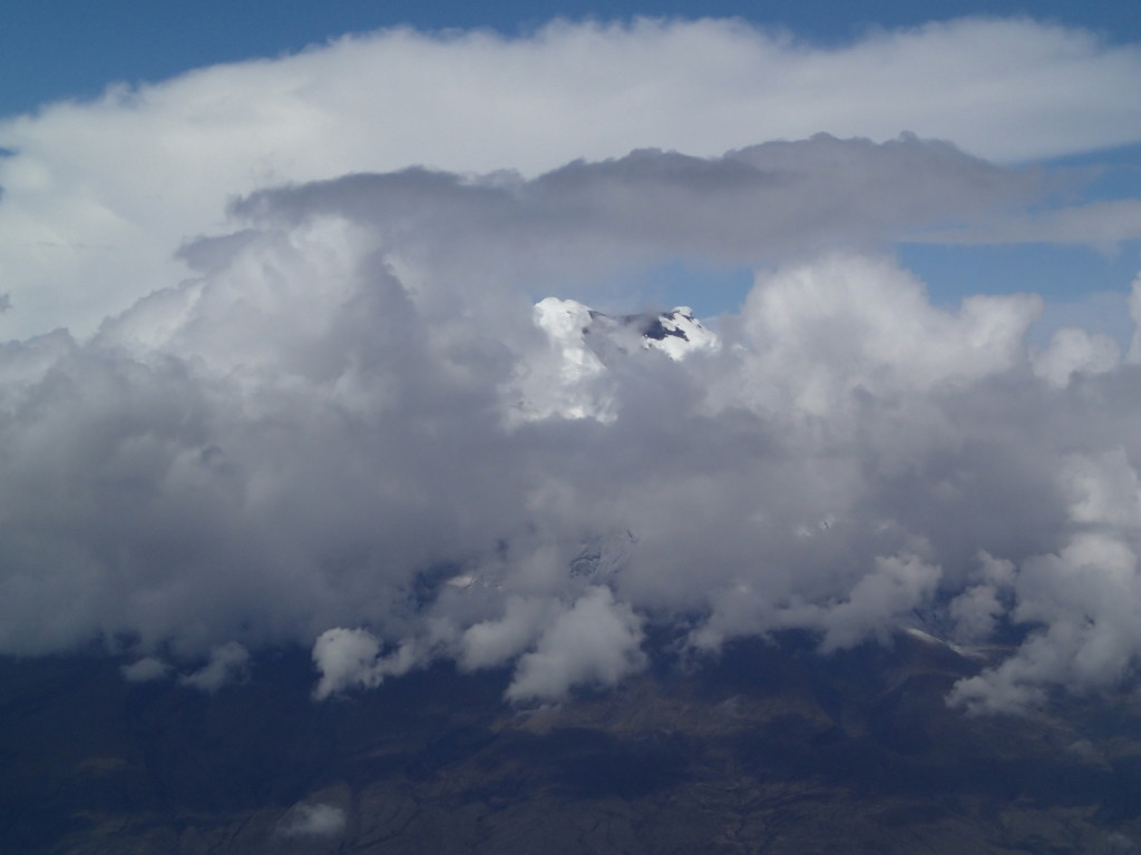 Chimborazo, the furthest point from the centre of the Earth