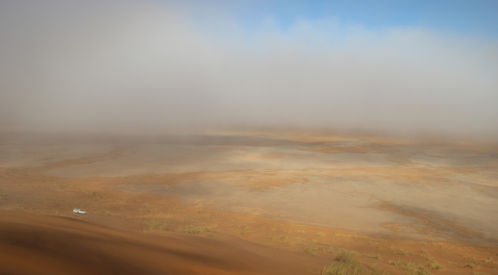 Dreaming of the Desert: Tracing old river courses in the northern Namib Sand Sea.   Namibia