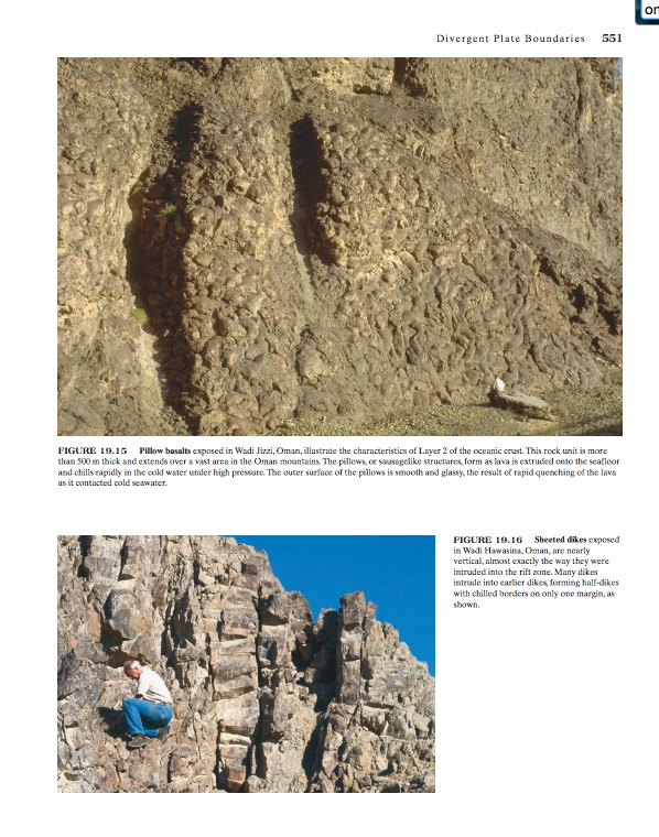 My first geo-mentor, Gene Clark in my first geology textbook.