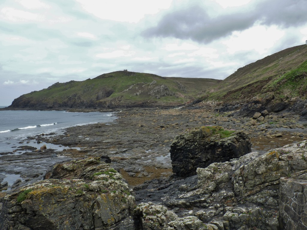 Porth Ledden looking towards the NNE