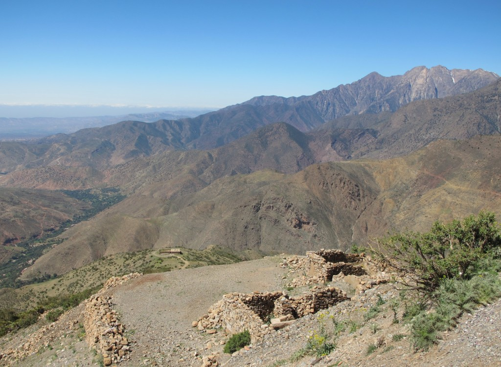 The High Atlas from the Tizi n'Test pass