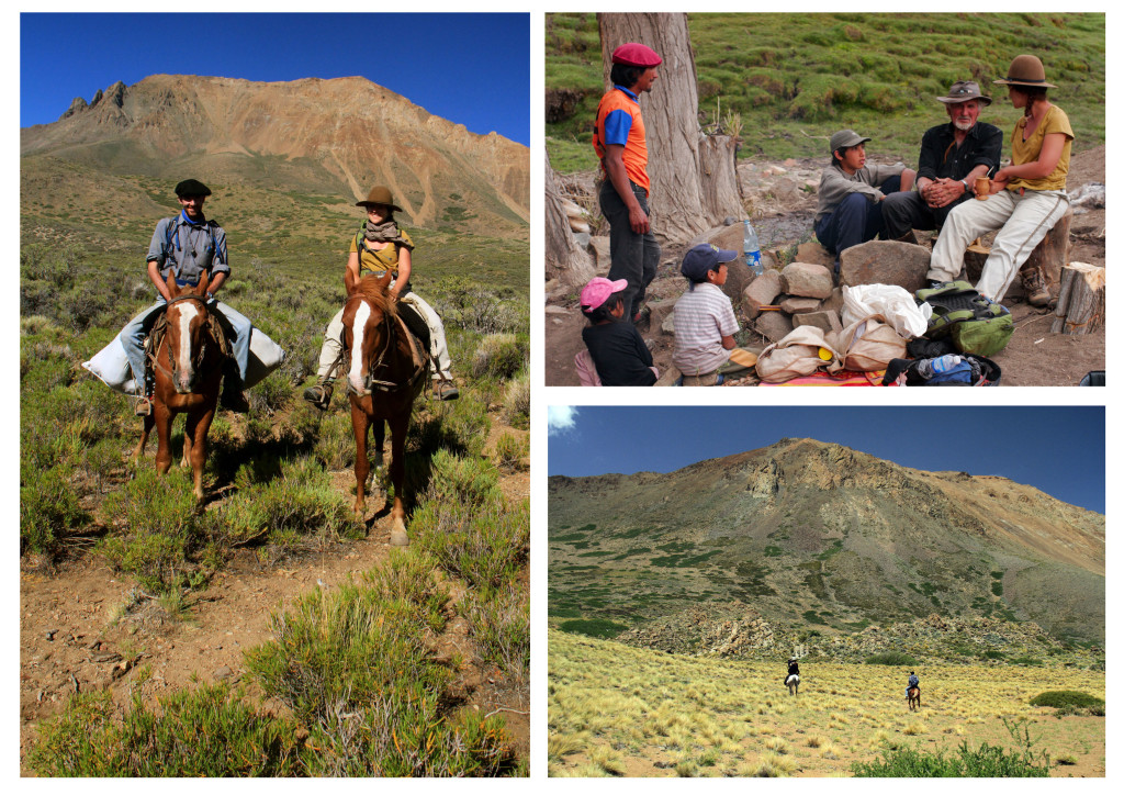 Photo 5: Horse riding and asado with the locals on the western flank of the Cerro Negro