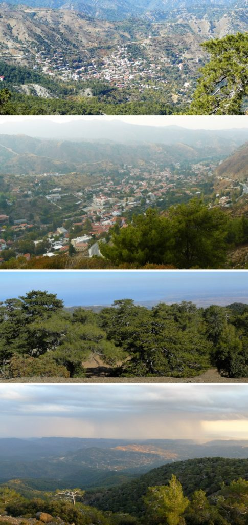 some of my favourite landscape shots from Troodos