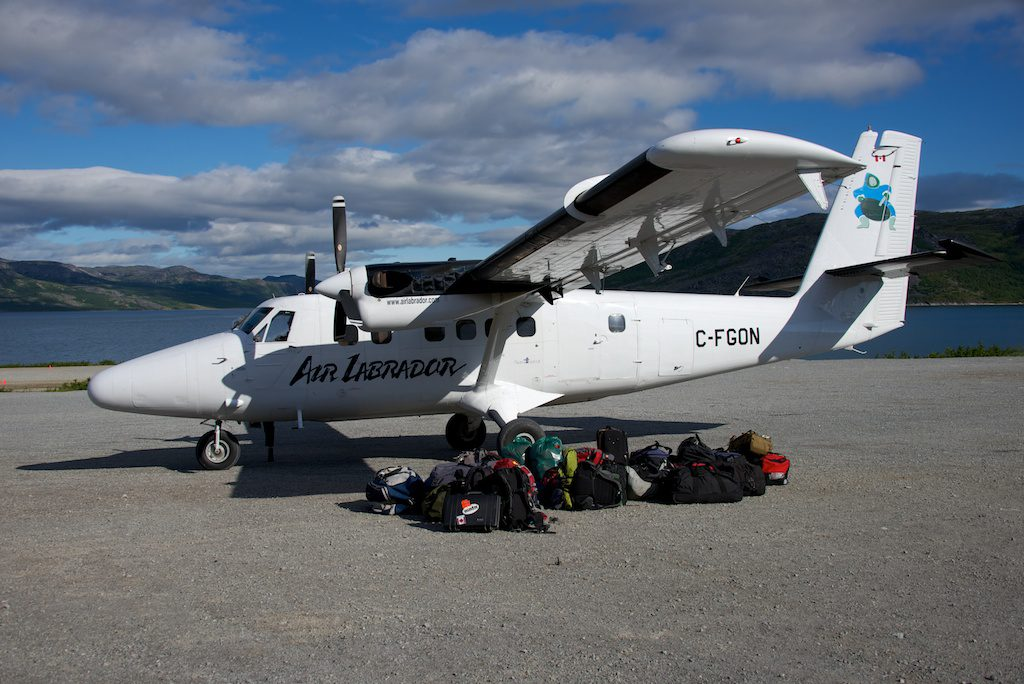 Figure 2: Our ride to Nain. Photo credit: Dominique Weis.