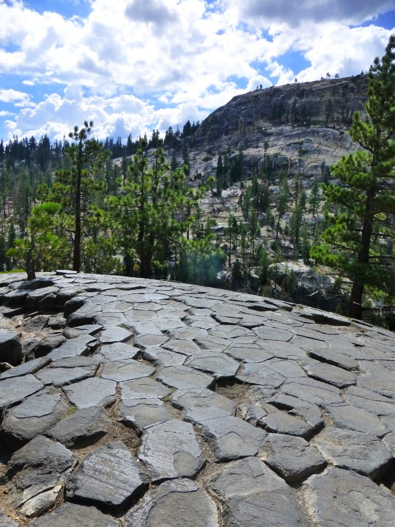 Devils Postpile from the top