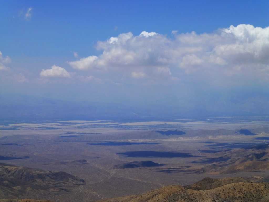View across San Andreas Fault