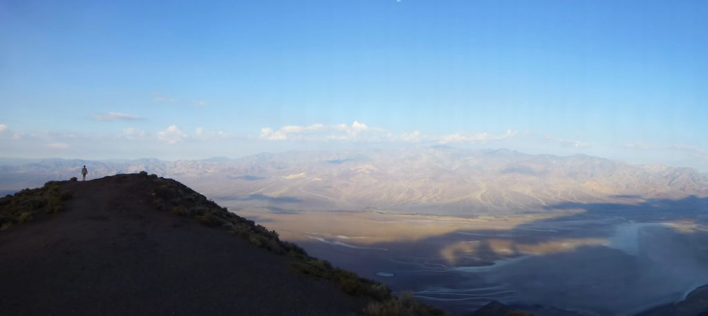 Death Valley at sunrise, from Dante's Peak