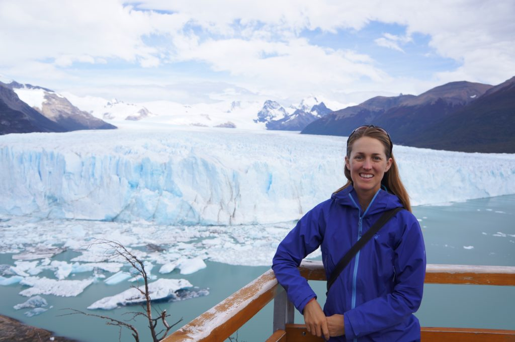 Enjoying a little geotourism at the Perito Moreno Glacier to conclude the field season