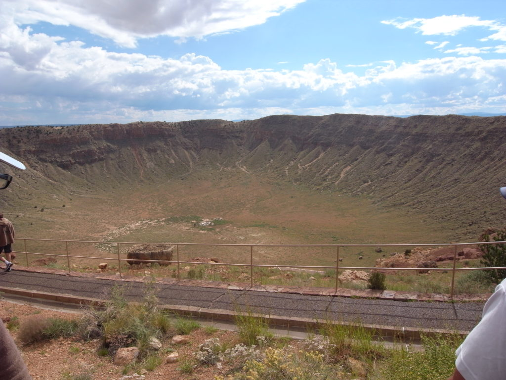 The Barring Meteor Crater