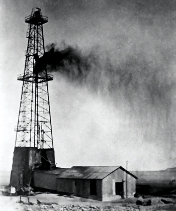 The Damman #7 well discovered oil in Saudi Arabia in March 1938. This well was the first to make a significant discovery that proved the potential of the Arabian oil province. It came just in time, after a series of failures, SoCal management was ready to pull the plug on the whole Arabian exploration venture when #7 came in big.