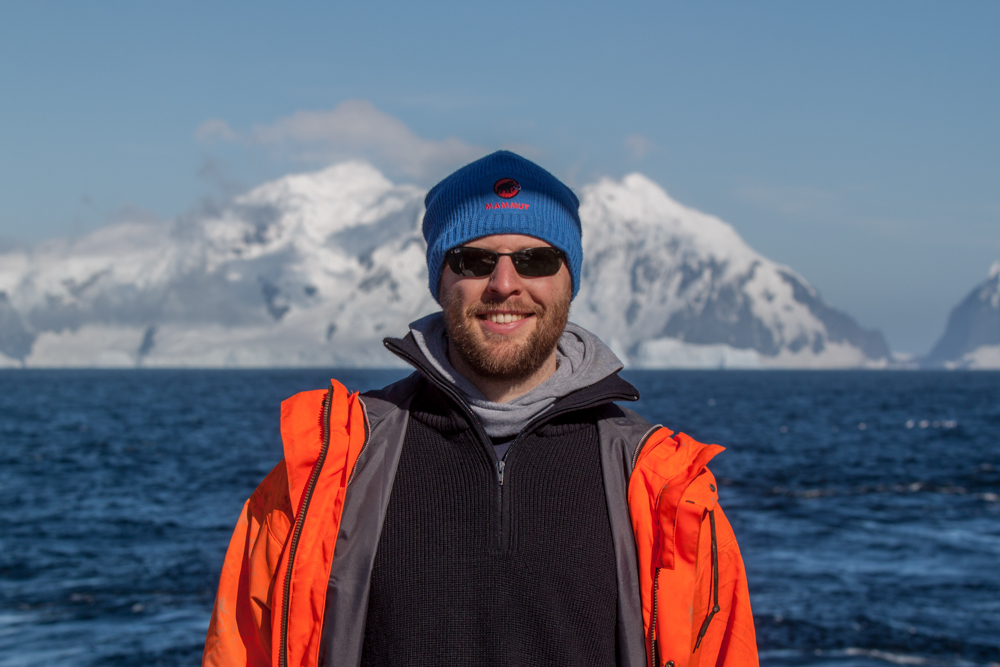 Me in front of Trinity Island (©Thomas Ronge).