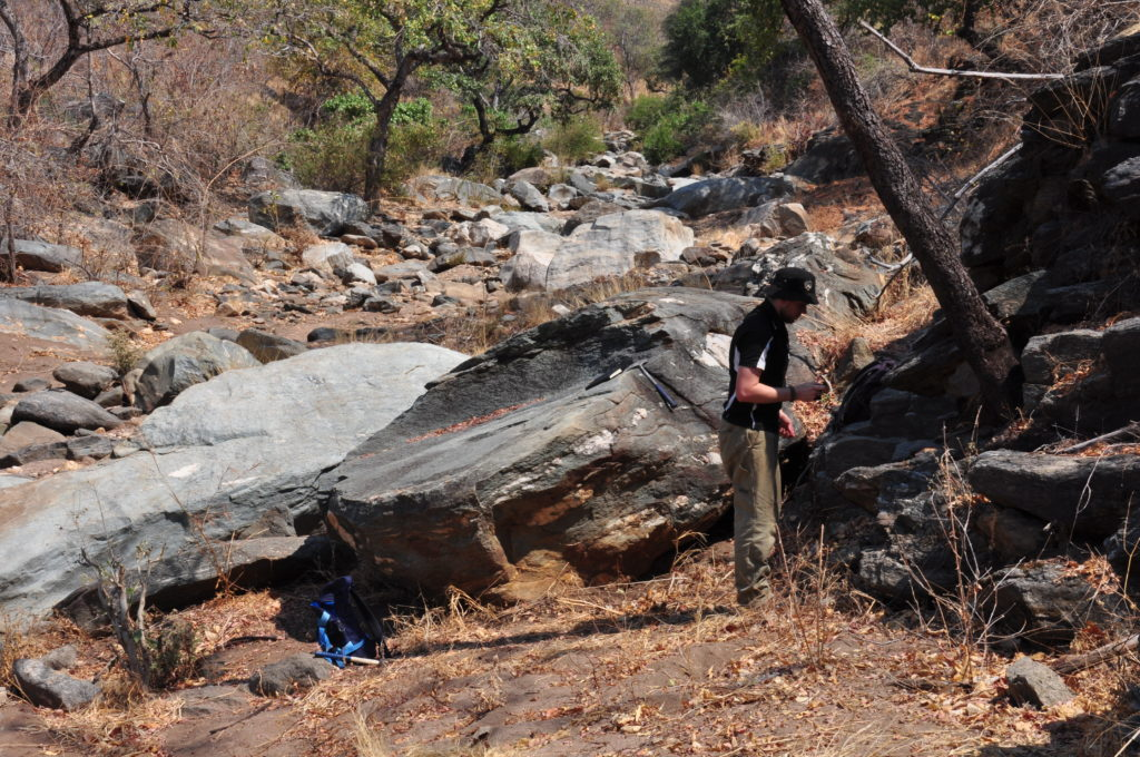 Investigating the geology exposed in the Lower Zambezi National Park