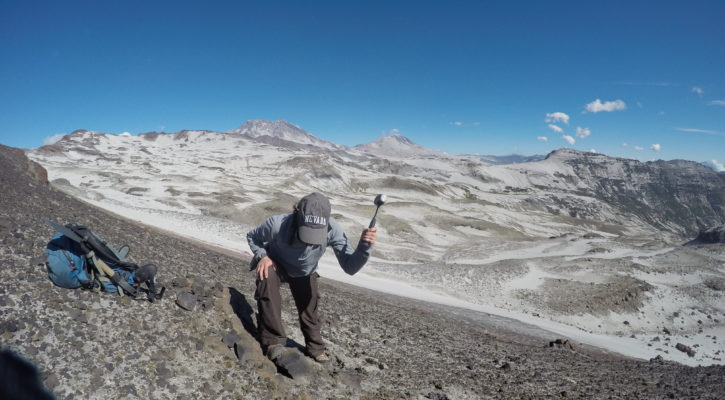 Understanding the eruptive history of Volcán Manantial Pelado, Chile with Heather Winslow