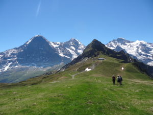 The history of Alpine geology from a Swiss mountain top with Anna Bidgood