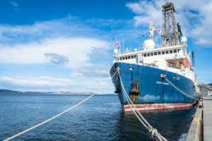 Fieldwork at Sea on IODP's JOIDES Resolution with Lloyd White
